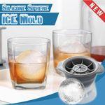 Silicone Sphere Ice Mold