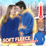 Soft Fleece Full-Zip Jacket