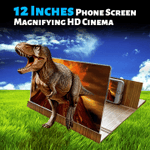 12 Inches Phone Screen Magnifying HD Cinema