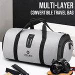 Multi-Layer Convertible Travel Bag
