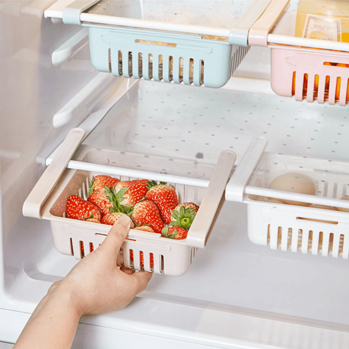 Sliding Fridge Storage Rack