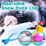 Adorable Snow Duck Clip
