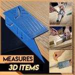 90° Woodworking Metric Gauge