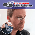 Armless Blue-Light Blocking Reading Glasses