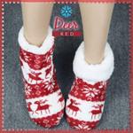 Anti-slip Thermal Fleece Slipper Socks