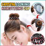 Crystal Looking Hairstyling Clip