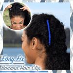 Easy Fix Banana Hair Clip