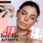 4D Hair-like Eyebrows Temporary Tattoo