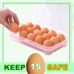 Antibacterial Egg Holder for 15 Eggs