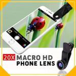 20x Macro HD Precision Phone Lens