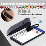 Bluetooth Earphone Translator