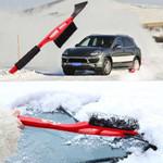 2 in 1  Snow Brush with Ice Scraper