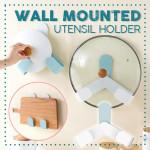 Wall Mounted Utensil Holder