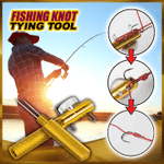 Quick Fishing Knot Tying Tool
