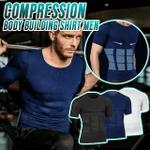 Compression Body Building Shirt Men