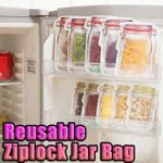 Reusable Ziplock Jar Bag