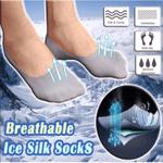 Breathable Ice Silk Socks (3 pairs set)