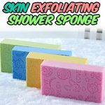 Skin Exfoliating Shower Sponge (2 pcs set)