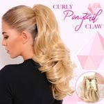 Curly Ponytail Claw