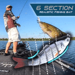 6 Section Realistic Fishing Bait