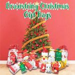Christmas Drawstring Gift Bags