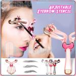 Adjustable Eyebrow Stencil