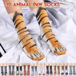 3D Animal Paw Socks