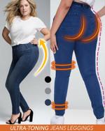 Ultra-Toning Jeans Leggings