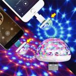 Mini Portable USB Disco Ball