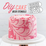 DIY Cake Lace Stencils (Set of 8)