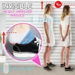 Invisible Height Improver Insoles