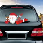Christmas Wiper Car Decor