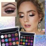 Glitter Eyeshadow Palette (15 Shades)