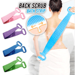 Silicone Back Scrub Strip