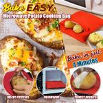 BakeEasy Microwave Potato Cooking Bag