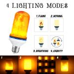LED Dynamic Flame Lamp