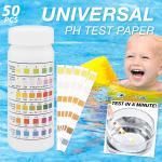 Universal pH Test Paper Strips(50pcs)