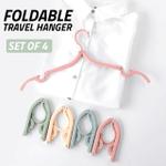 Foldable Travel Hanger (Set of 4)
