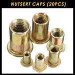 Rivet Gun Nutsert Caps (20 PCS)