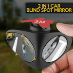 2 In 1 Car Blind Spot Mirror