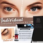 Natural Individual Eyelashes Extension Kit
