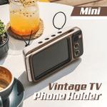 Mini Vintage TV Phone Holder