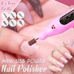 Mini USB Power Nail Polisher