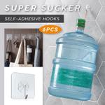 Heavy Duty Self-adhesive Hooks (6PCS)