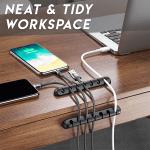 Easy-Stick Cable Organiser Stripe