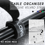 Cable Organiser Adhesive Velcro Strips