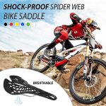 Shock-proof Spider-web Bike Saddle