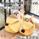 Banana Soft Pet Bed