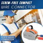 Screw-Free Compact Wire Connector