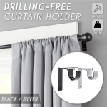 Drilling-Free Curtain Holder